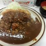 キッチン南海 沼袋店 - カツカレー大盛¥800