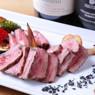 肴としても最適な本格イタリアン料理☆