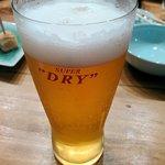 魚肴おばんちゃい - 飲み放題のビール