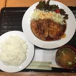 堂島カレー - 2017.6.25 堂島とんてき 880円