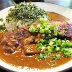 吉田カレー  - ミックス+カスリメティー+豚