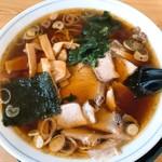 ラーメンあおきや - 料理写真:生姜醤油ラーメン