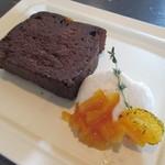 71888377 - オレンジチョコレートのケーキ