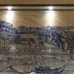 マヌエル・カーザ・デ・ファド - 壁面の大きなアズレージョ