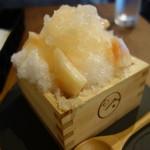 庭カフェ KULA - かき氷・桃