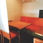 ブリック - 半個室的な席もあります❗️