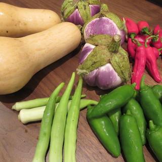 【宇治のお野菜をお楽しみください♪】