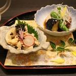 九州薩摩地鶏 薩摩次郎 - 前菜