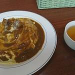 りよん - 料理写真:オムカレー