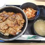 71893885 - もち豚カルビ丼 ¥730-
