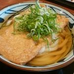 丸亀製麺 - きつねうどん接写