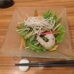 地菜和食 庵 - 共通のサラダ