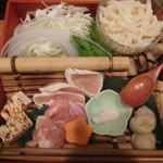 地菜和食 庵 - とりすきコース