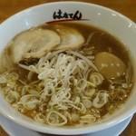 ラーメン はなてん - 料理写真:【こってり とんこつラーメン + 半熟味付玉子】¥760 + ¥120