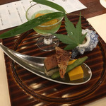 日本料理 花木鳥 - 料理写真:肴 盛り合わせ
