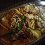 71897369 - 野菜カレー