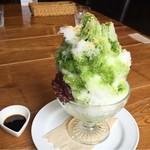 ATAGO - 抹茶のかき氷