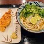 丸亀製麺 - すだちおろし かしわ天