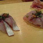 栄寿司総本店 - 料理写真:関アジ 一回め訪問時