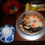 一ノ坂 - あまごの釜飯