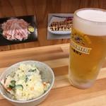 71901451 - 先ずはビールとポテサラ