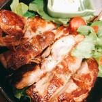 tama-awa - 鶏の鉄板辛味しょうゆ焼き