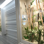 カズノリ イケダ アンディヴィデュエル - カウンターの後ろ壁