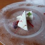 檪の丘 - 2017/8 シチリア風アイスチーズケーキ500円
