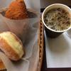 サンジェルマン - 料理写真:カレーパン、あんドーナツ、試食のパンも一緒に入れてくださいました!