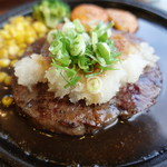 わらじ亭 - おろしステーキ