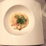 コッソリ - ホタテと蟹のリゾット
