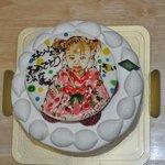 7191488 - 似顔絵ケーキ(+250円で)