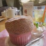 Cafe Raffine - 2011/3/16 フランボワーズスフレ 730円