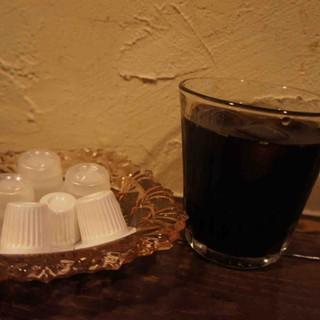 一文字カリー店 - ドリンク写真:アイスコーヒー