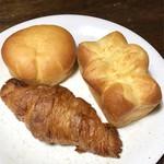 ハナカゴ - クリームパン、ナンテール ブリオッシュ、クロワッサン