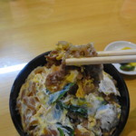 みろく庵 - すき焼き丼
