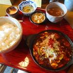 かかん - 本格四川麻婆豆腐定食