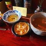 かかん - 本格四川麻婆豆腐の副菜