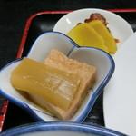 太田や食堂 - 小鉢