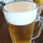 満る岡  - 生ビール  中     ¥648