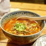 味一 - ☆テール野菜スープ(辛口醤油味)850円