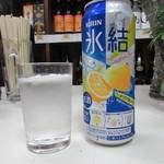 平尾酒店 - 氷結ロング 210円
