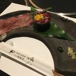 71915999 - 炙り寿司とうにくミニ漬け丼