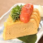 宮崎県日南市 塚田農場 - めんたい卵焼き