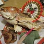 明石の旬を味わう ぜんさく - 焼き鯛