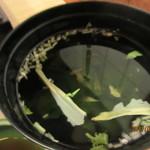 明石の旬を味わう ぜんさく - 汁物