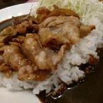 東京スタミナカレー 365  - 辛さが後から盛り上がるタイプ。甘い肉が美味しい。