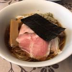 麺工 小烏丸 - 本日の気まぐれ限定。冷やし煮干し。900円。