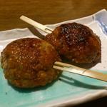 瀬戸内旬菜 棗 - 鶏つくね焼きです。(2017年8月)