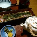 瀬戸内旬菜 棗 - 瀬戸内鯛ひつまぶしです。(2017年8月)